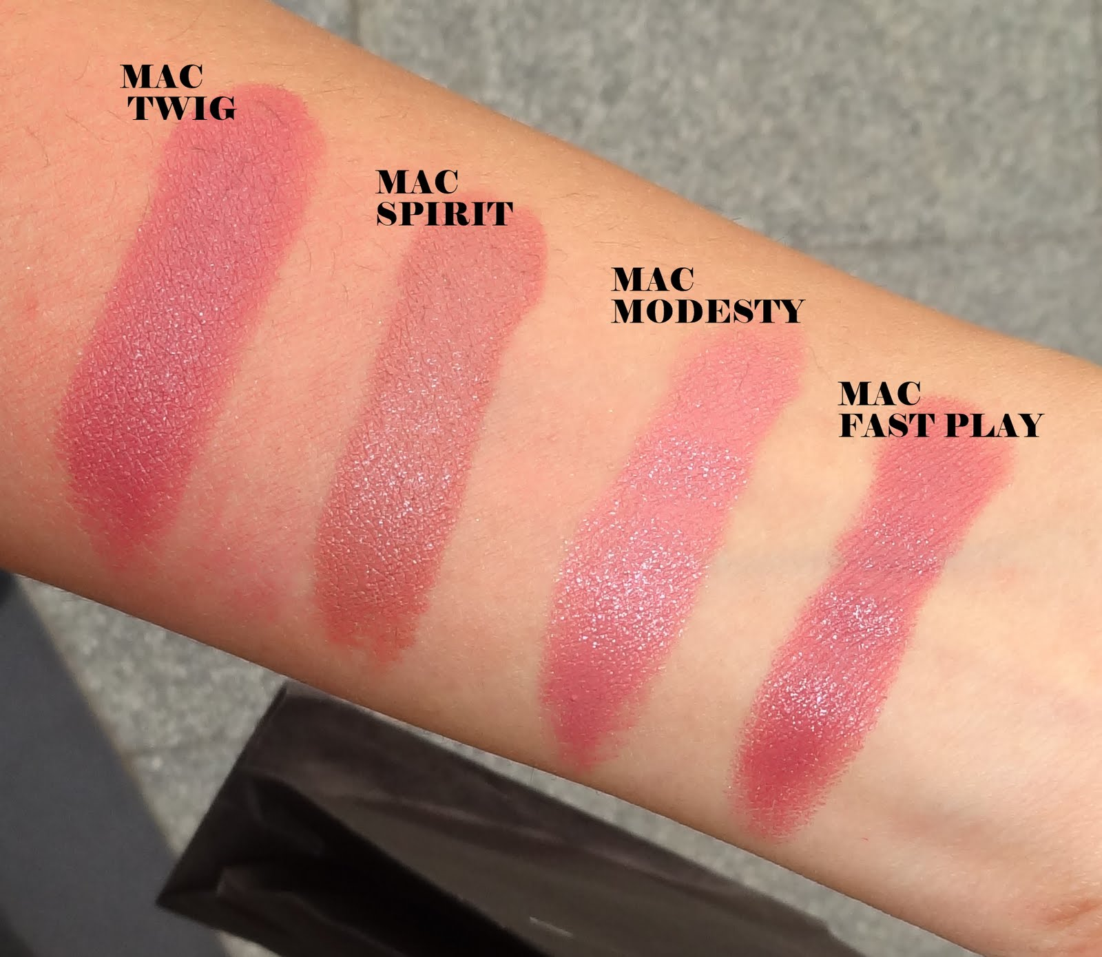 Hedendaags Mac Lipstick Swatches: Part 2 - Peachesandblush HT-57