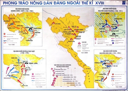 phong trào nông dân đầu thế kỷ 18 ở Đàng Ngoài