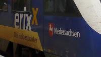 Обстрелян немецкий поезд