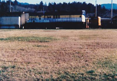 Port of Tillamook Bay GP9 #101 in Tillamook, Oregon, in March 1994