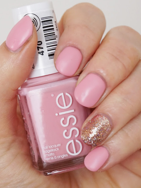 Essie - Flawless (Retro Revival Collection 2017), mat, mattiert, Nails, Nagellack, rosa, rosegold, ILNP - Juliette