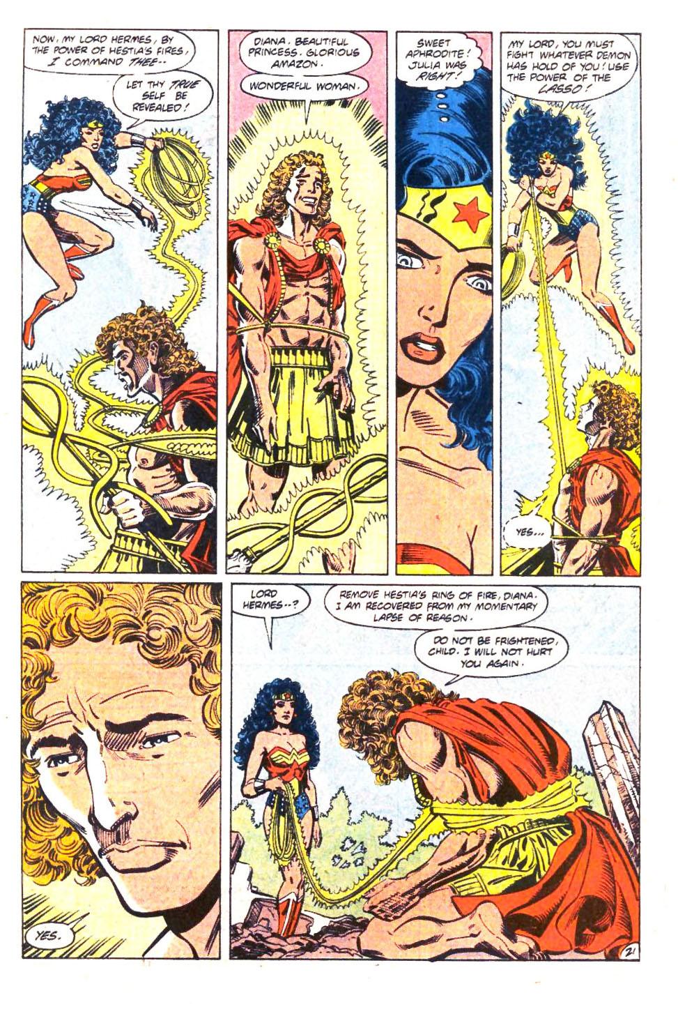 Read online Wonder Woman (1987) comic -  Issue #36 - 22