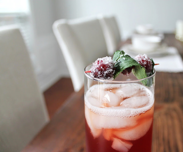 cranberry mint tea recipe