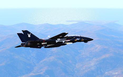 Arma3用F-14 Tomcat MODのVX-4 Evaluators スキン