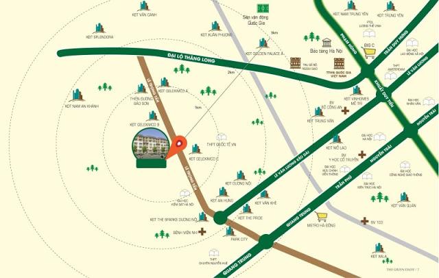 Vị trí đắc địa tại chung cư ICID Complex - Lê Trọng Tấn