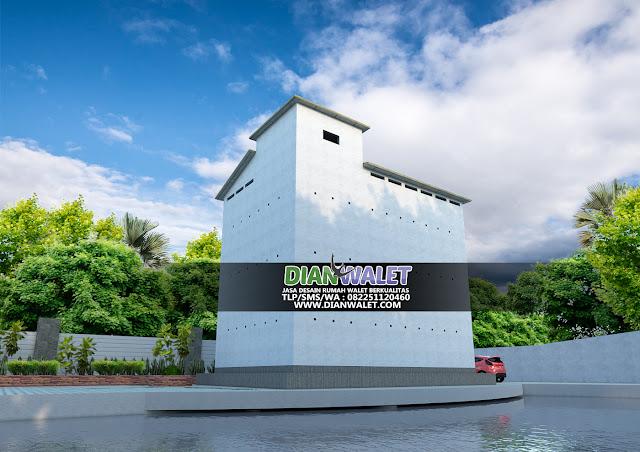 Desain Rumah Walet 8X12 3 Lantai Terbaik