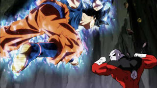 Goku Fighting Jiren