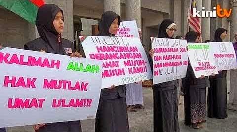 Tolak Gugatan Gereja Katolik, Pengadilan Malaysia Tegaskan Umat Kristen Dilarang Pakai Kata 'Allah'