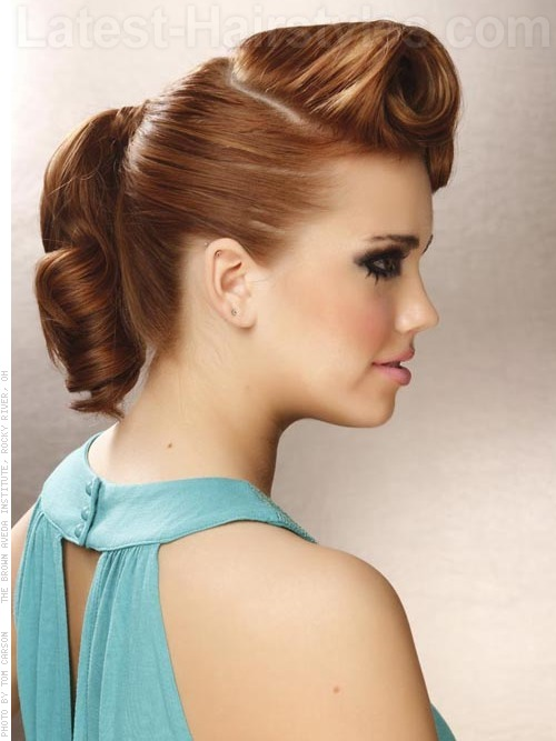 Terrific Cute And Easy Updo Hairstyles For Women Stylish Long Prom Updos Hairstyles For Men Maxibearus