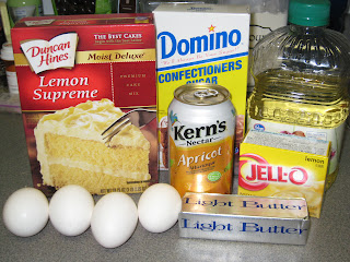 Apricot Nectar Cake With Lemon Cake Mix