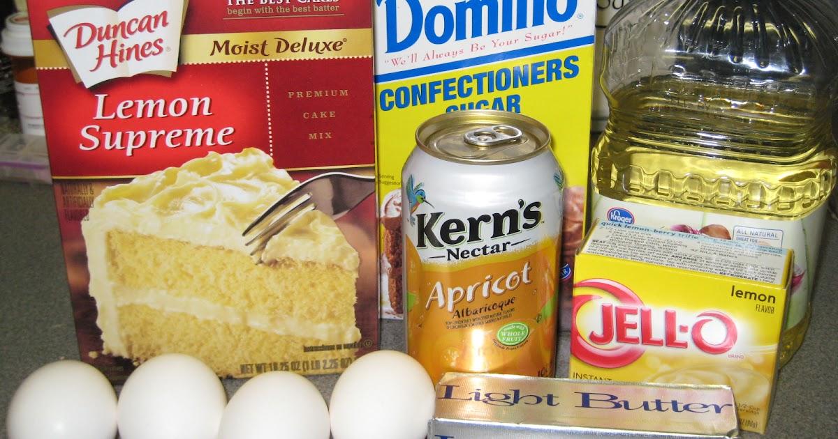 Apricot Nectar Cake Recipe Lemon Jello: Think.Make.Create.: Apricot Nectar Cake