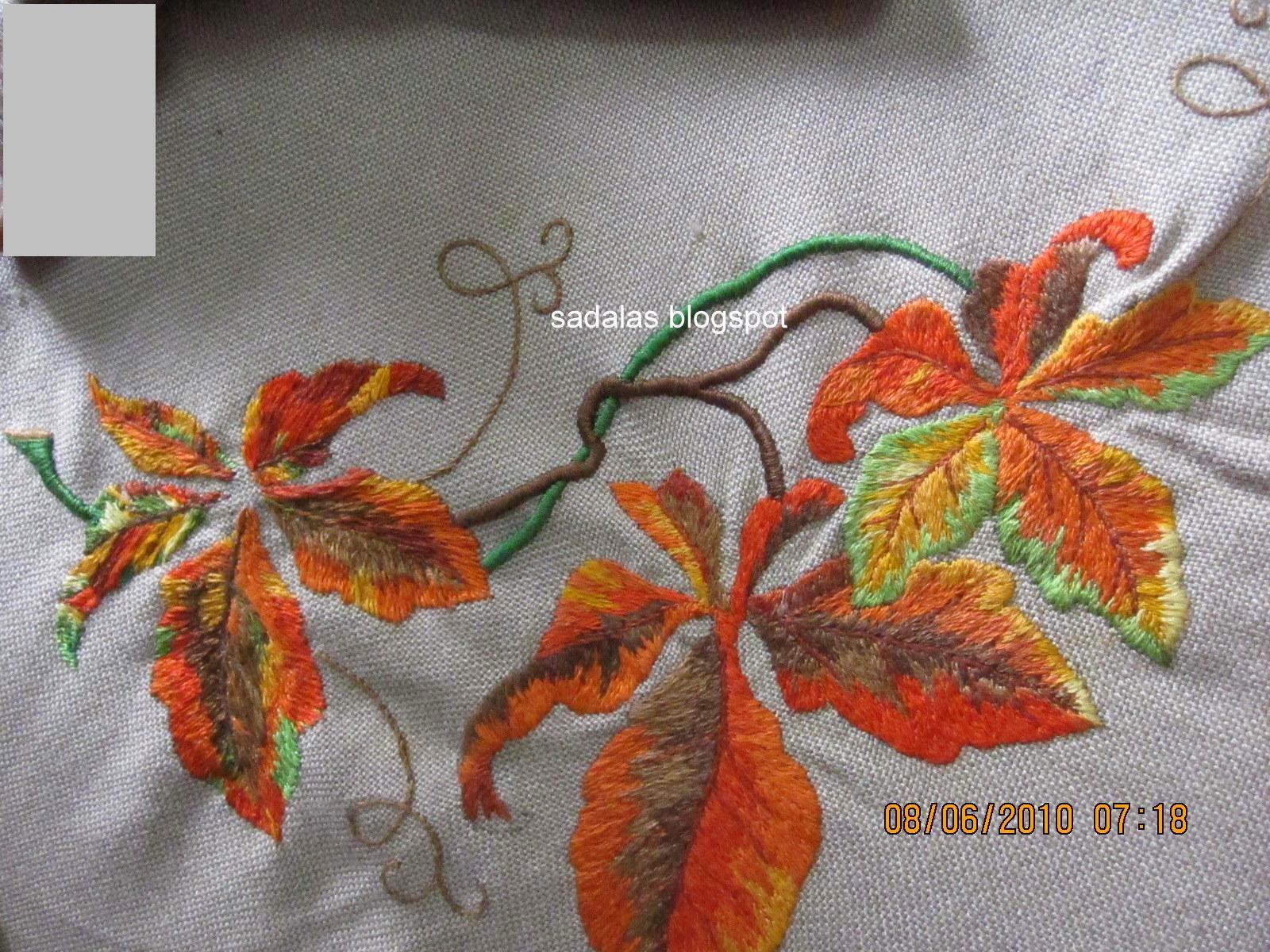 Sadala's embroidery: tutorial: shisha work   aguja e hilo.