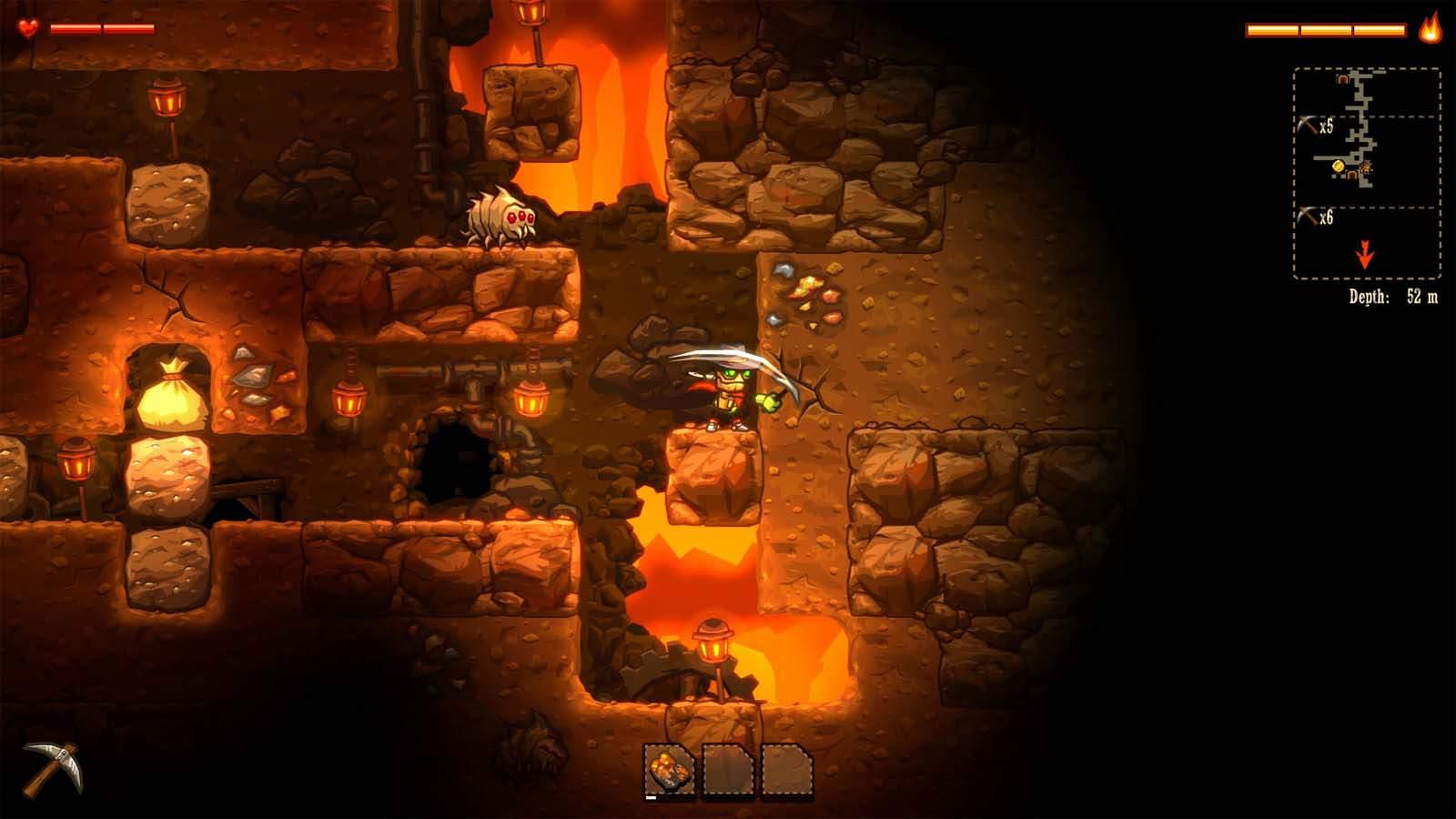 تحميل لعبة Steamworld Dig مضغوطة برابط واحد مباشر كاملة مجانا
