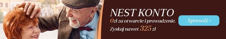 Nawet 325 zł do darmowego Nest Konta w Nest Bank