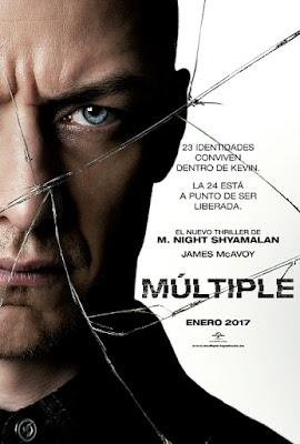 Cartel oficial español: Múltiple (2016)