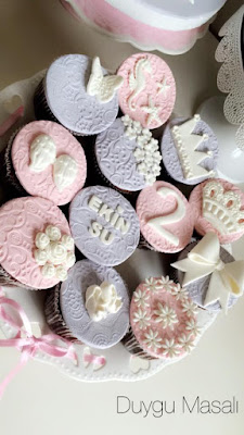 2 yaş cupcake