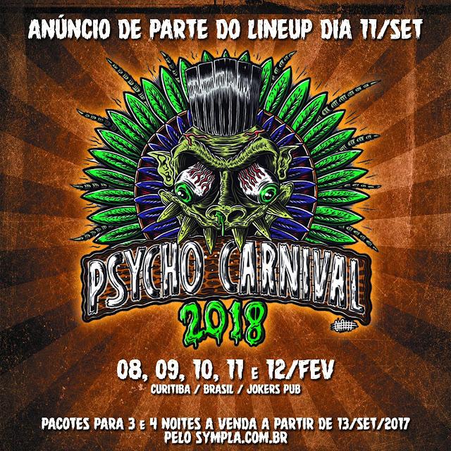 19º Psycho Carnival - Está Dada a Largada!
