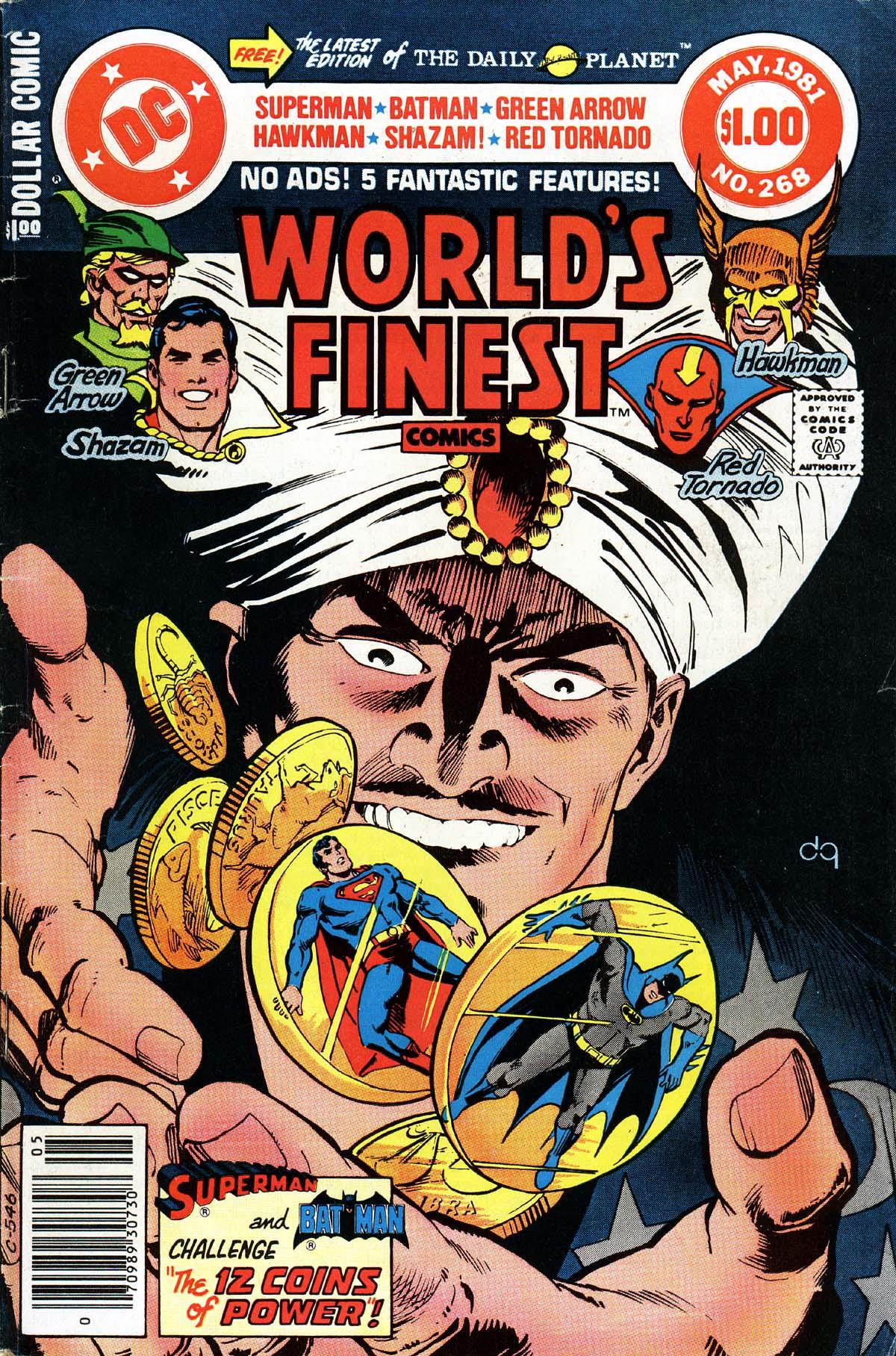 Read online World's Finest Comics comic -  Issue #268 - 1