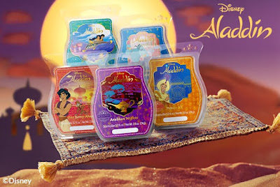 Introducing the Aladdin Wax Collection from Scentsy!