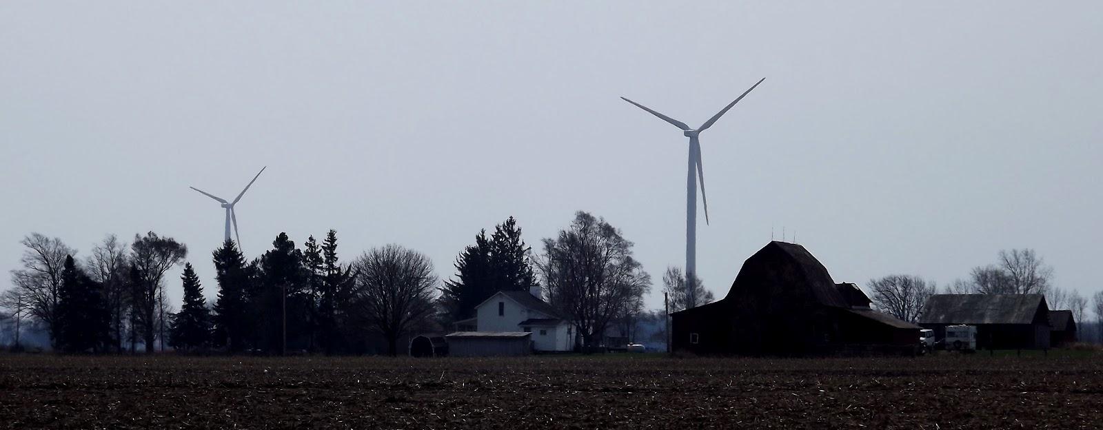Mid Michigan Wind Farm near Ithaca