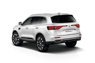 New 2017 Renault Koleos Facelift white color Hd Photos