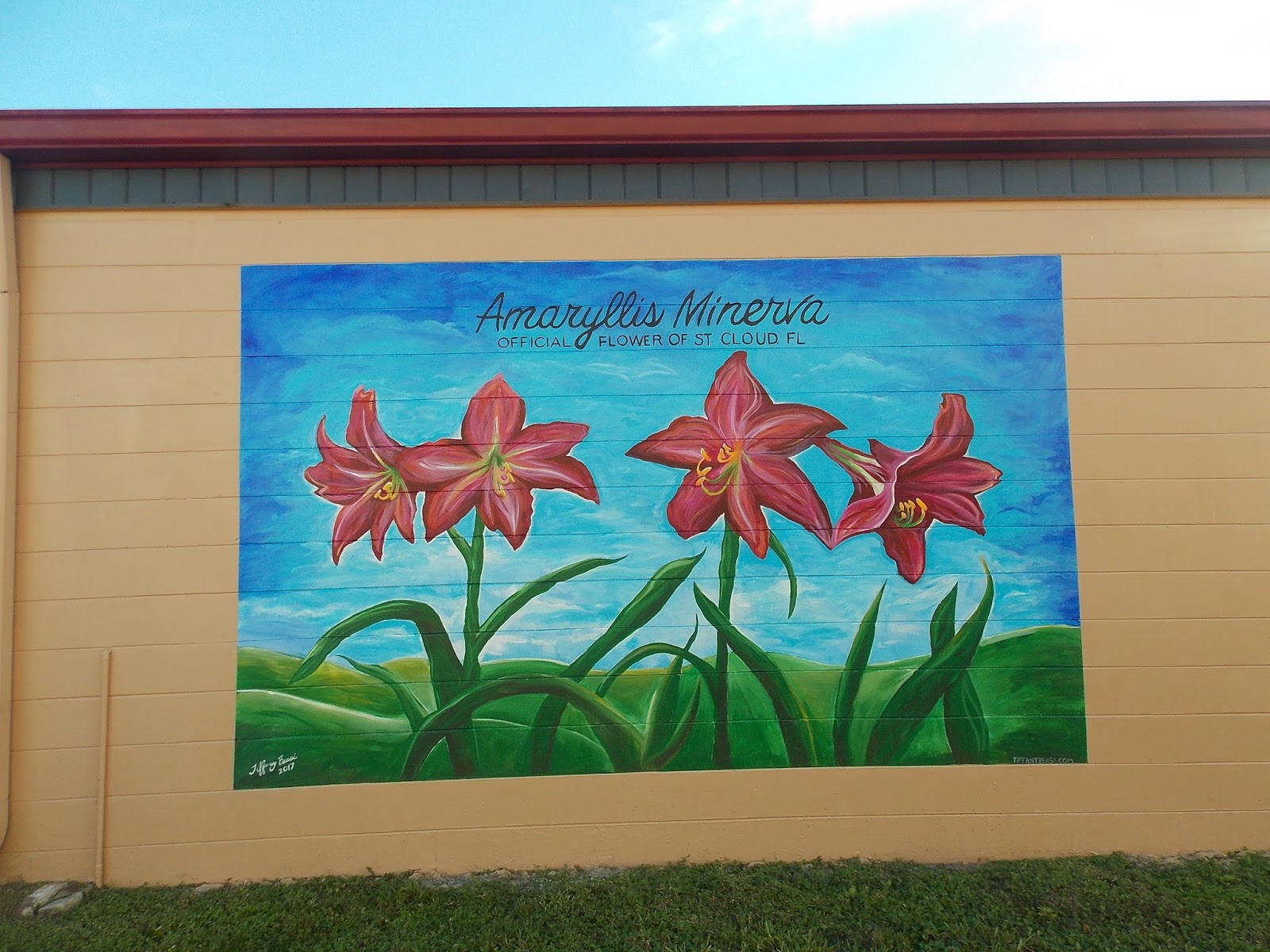 It Is A Small Town Noted For Quite A Few Murals Which Can Be Found On The Outside  Walls Of Its Downtown Buildings. Pictured Below Is One Of The First Ones ... Part 95