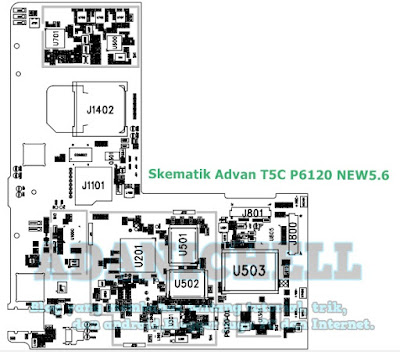 Skematik Advan T5C P6120 NEW5.6