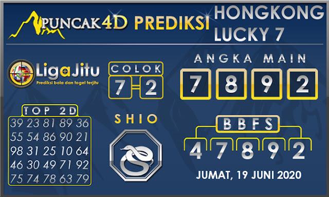 PREDIKSI TOGEL HONGKONG LUCKY 7 PUNCAK4D 19 JUNI 2020