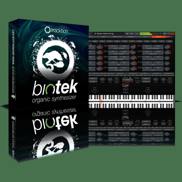 Tracktion BioTek 2 v2.2.3.0 Full version