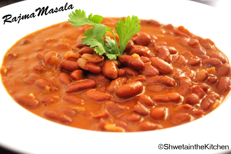 Shweta in the Kitchen: Rajma Masala - Rajma Chawal - Red ...