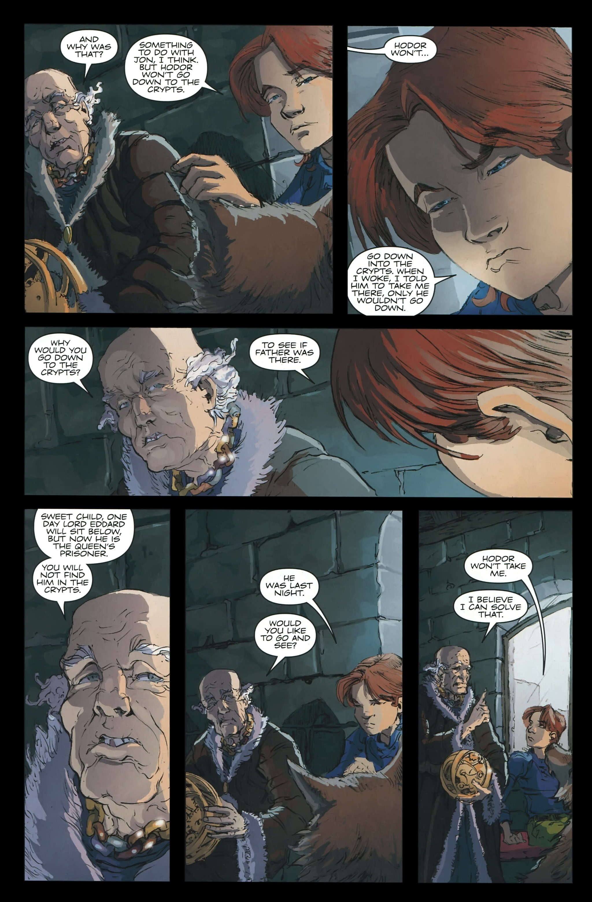 Read online A Game Of Thrones comic -  Issue #23 - 4