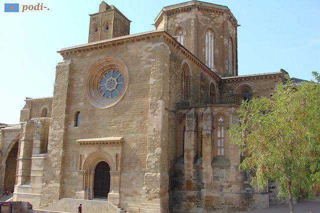 Seu Vella de Lleida - porta de l'Anunciata