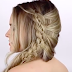 The 4 Strand Lace Braid Hairstyle Tutorial