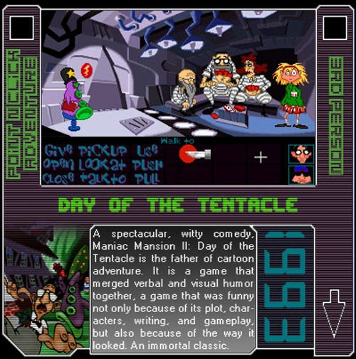 1993 - Day Of The Tentacle