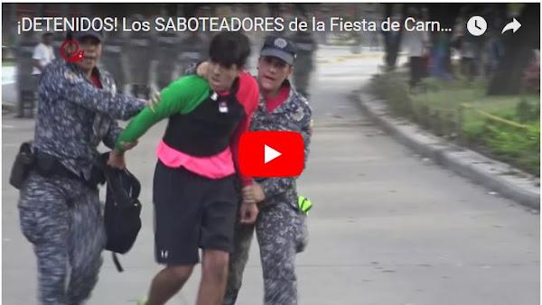 Pelea en fiesta de Carnaval de Los Próceres dejo a varios chaburros heridos