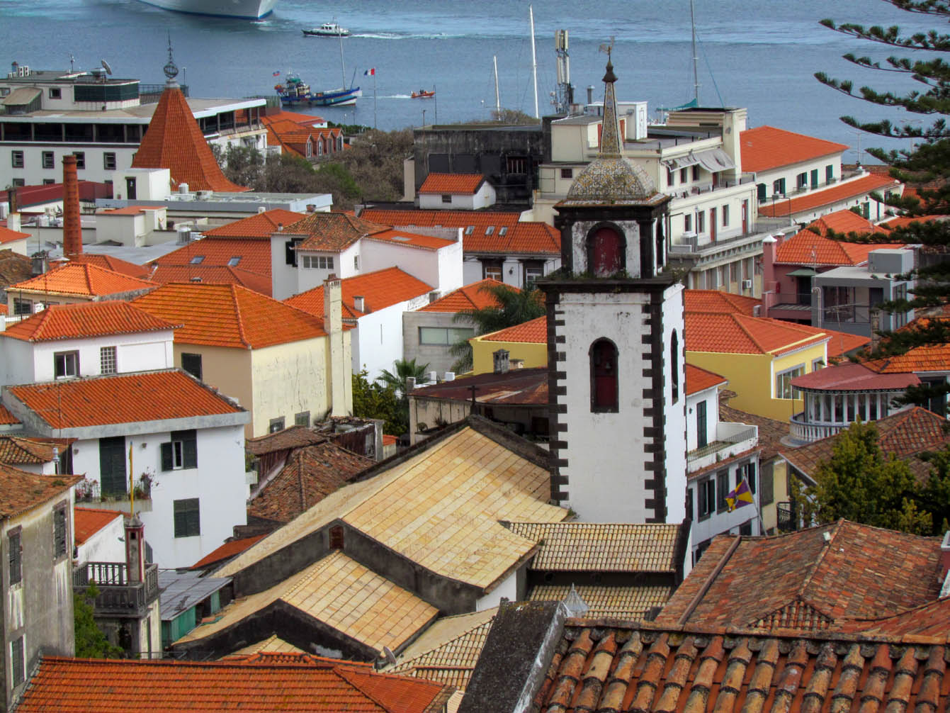 different perspectives of the São Pedro church