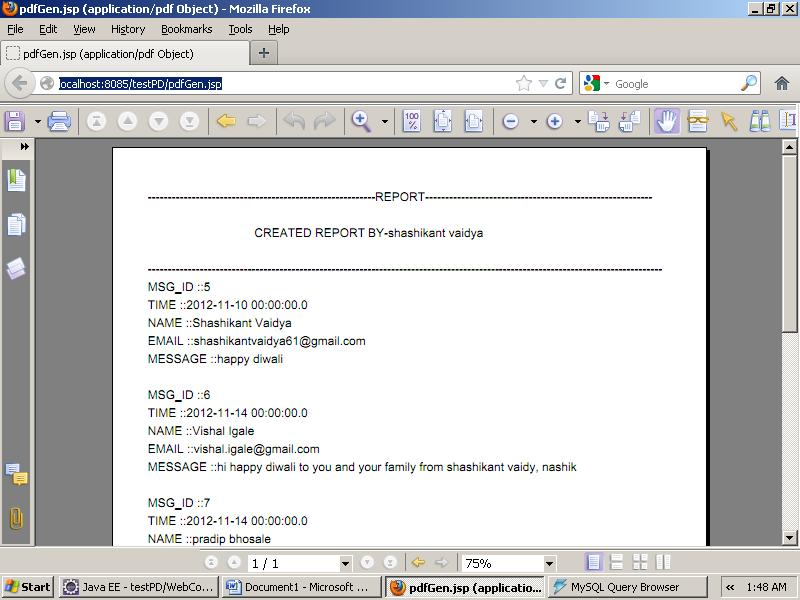 Jsp Pdf File