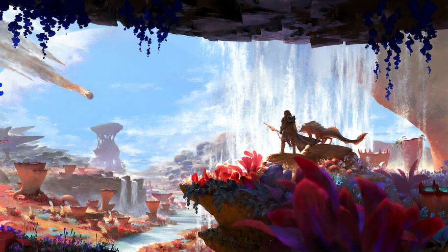 Fantasy, World, Art, 4K, #4.1057