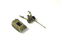 VK 501 Munitionsschlepper & Pak 43