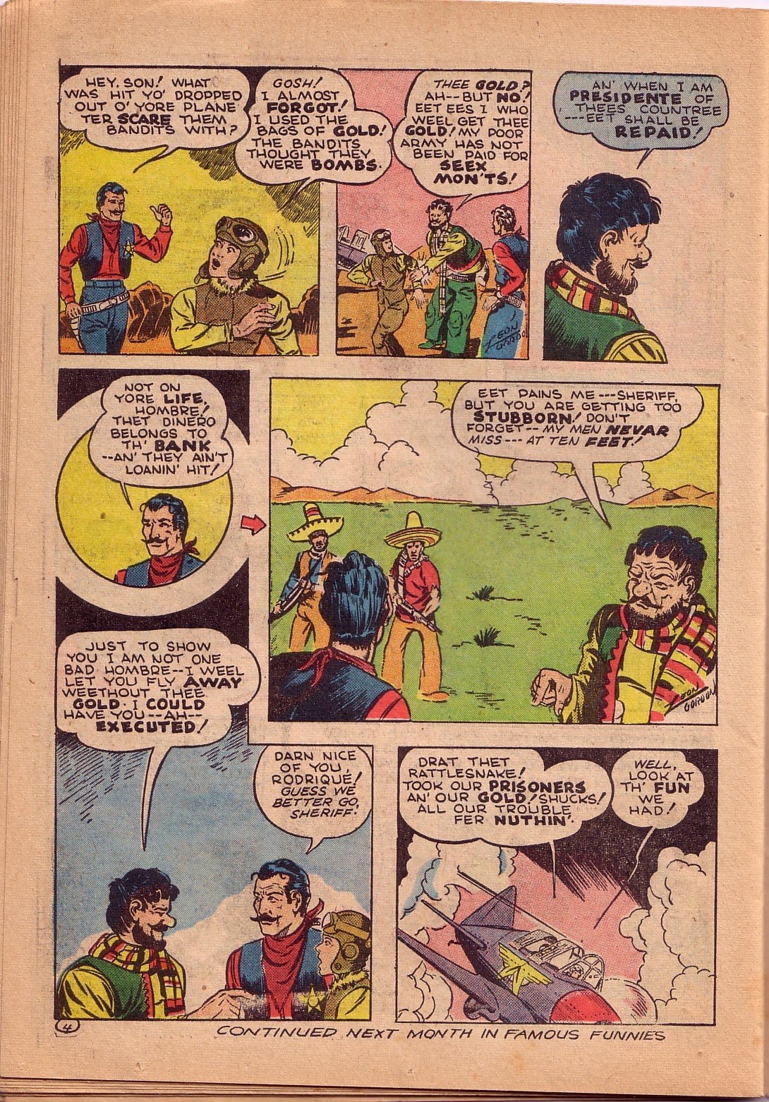 Read online Famous Funnies comic -  Issue #107 - 43