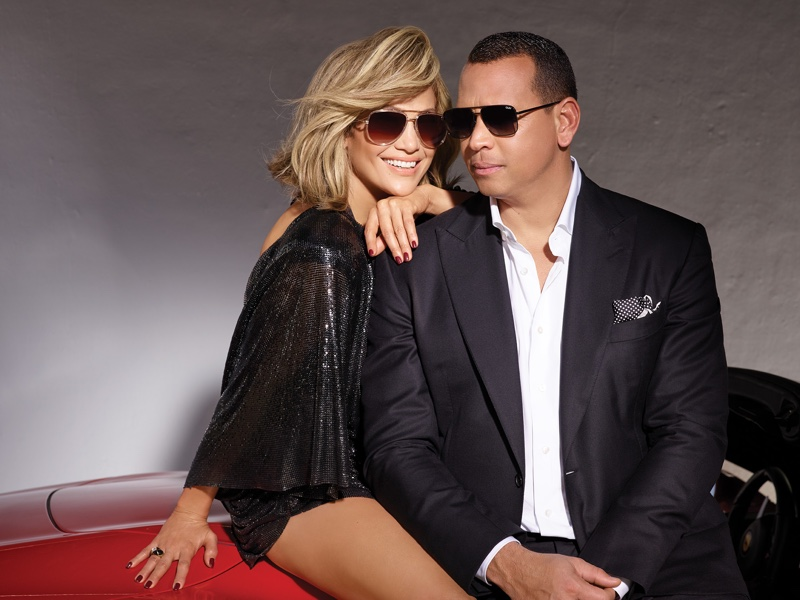 JLo and Alex Rod collaborate on sunnies with Quay Australia