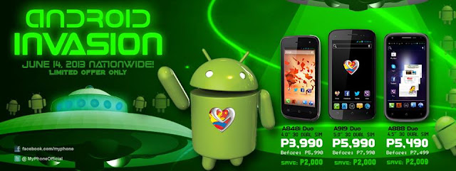 MyPhone A888 Duo Promo