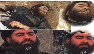 أذاعة داعش الأرهابي تعلن مقتل البغدادي  و أبوهيثم العبيدي يعلن نفسه خليفة ! و خليفة ثاني في الرقة السورية !