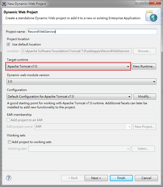 Java Web - Build a Java Web Service and Client Sample by Eclipse