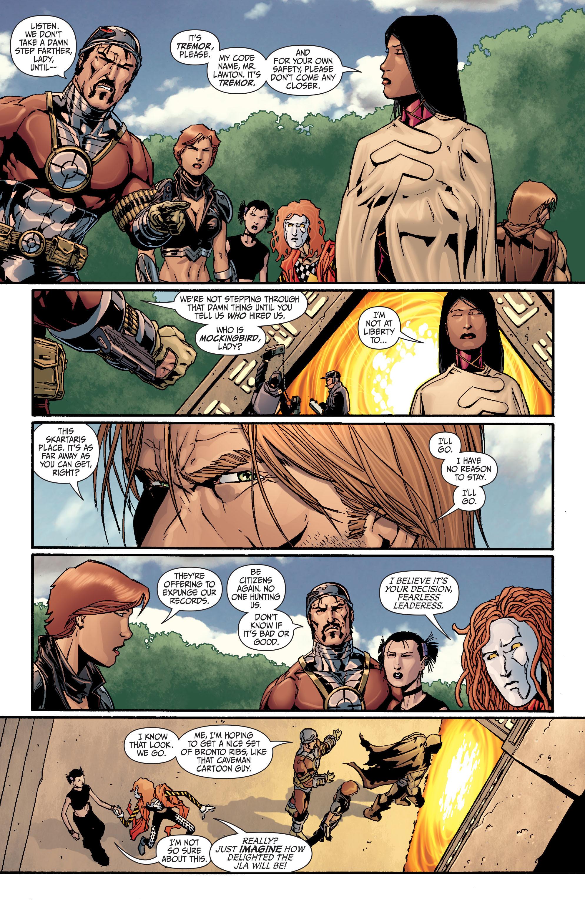 Read online Secret Six (2008) comic -  Issue #26 - 9