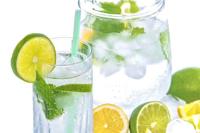 lemon, lemonate, drink, cold