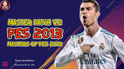 PES 2013 Masters Patch v2 Season 2017/2018