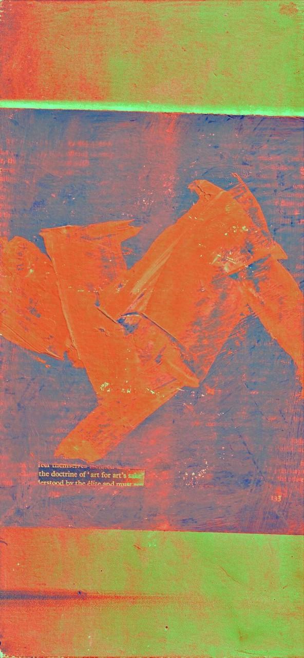Art by Robin Tomens : Art For Art's Sake, 5 Variation (print/acrylic