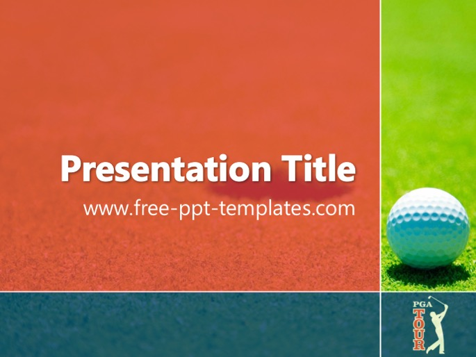 Pga tour ppt template toneelgroepblik Choice Image