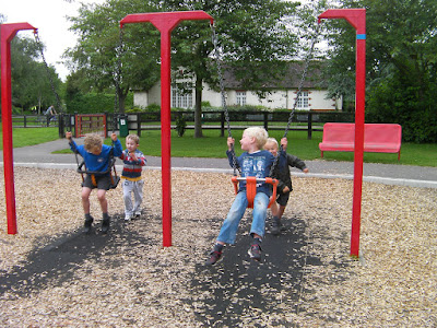 4 old swingers baby bucket swings milton park